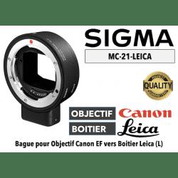 Bague Sigma MC21-EF-E - Canon (EF) vers Leica (L) Canon EF vers Leica (L)