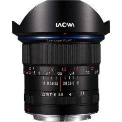 Laowa 12mm F2.8 Zéro Déformation - Monture Sony FE Grand Angle