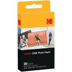 Kodak Zink Pack de 20 Feuilles Compatible pour KODAK PRINTOMATIC Film pour Kodak
