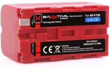 Batterie NP-F750 - Baxxtar Li-ion Batteire Sony