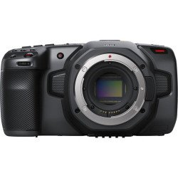 Blackmagic Pocket Cinema Camera 6K + (2x batterie + 1x CFAST 128 Go) Caméra Vidéo