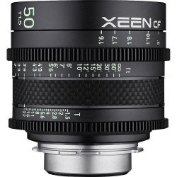 Samyang Xeen CF 50 mm T1.5 - Objectif Ciné - Monture Canon EF Samyang-Canon