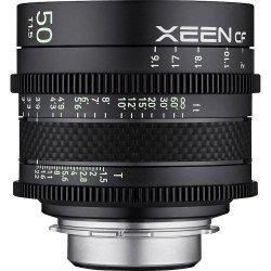 Samyang Xeen CF 50 mm T1.5 - Objectif Ciné - Monture Canon EF