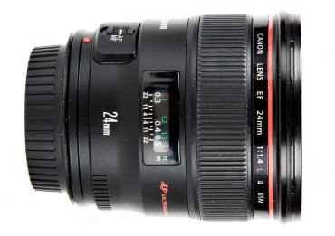 Canon 24 mm f/1,4 L II USM - Objectif Photo Grand Angle