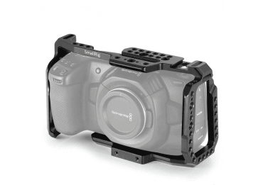 SmallRig Cage pour Blackmagic Design Pocket Cinema Camera 4K & 6 Cages & Cross épaule