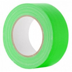 Gaffa Tape Fluo vert - 25mm x 25m VENTE