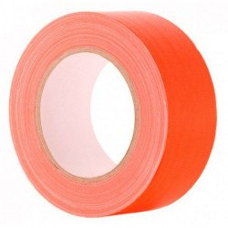 Gaffa Tape Fluo orange - 25mm x 25m VENTE