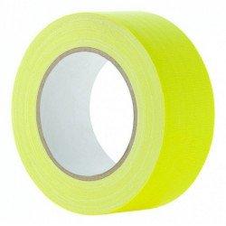 Gaffa Tape Fluo jaune - 25mm x 25m Gaffers & Adhesifs