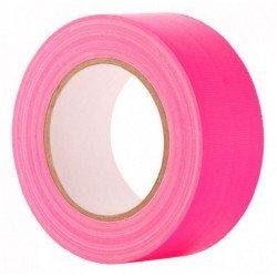 Gaffa Tape Fluo rose - 25mm x 25m