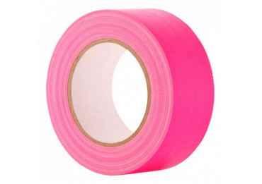 Gaffa Tape Fluo rose - 25mm x 25m Gaffers & Adhesifs