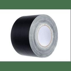 Gaffa toile noir Mat (sans reflet) - 100mm x 50m Gaffers & Adhesifs