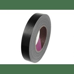 Gaffa toile noire Mat (sans reflet) - 25mm x 50m VENTE