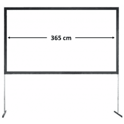 Ecran de projection frontal 365x210 - Stumpfl Vario32