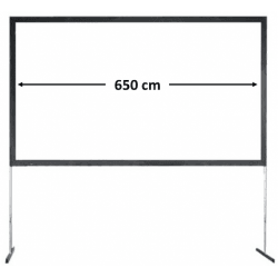 Ecran de projection frontal 650x370 - Stumpfl Vario64 Vidéoprojecteur