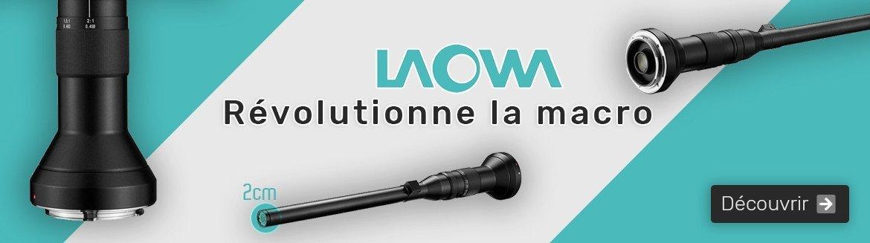 Découvrez les objectifs macro novateurs de LAOWA