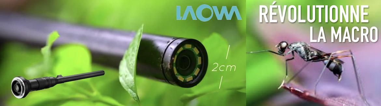 Objectif Laowa 24 mm Macro